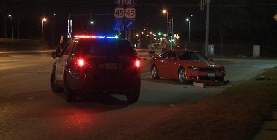 Milwaukee police investigate crash near 119th and Hampton