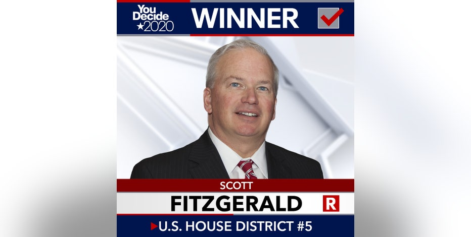 Republican Scott Fitzgerald wins election to US House