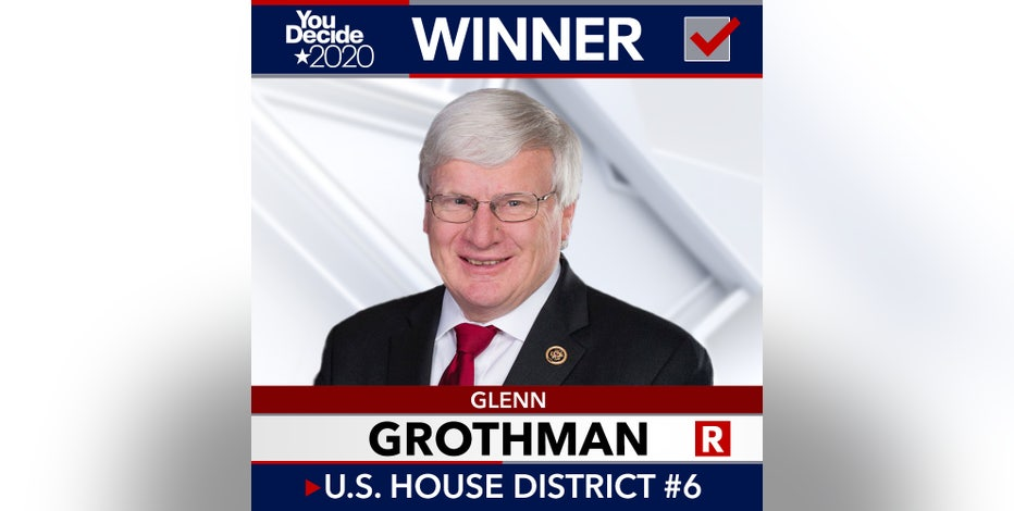 Republican Glenn Grothman reelected to US House