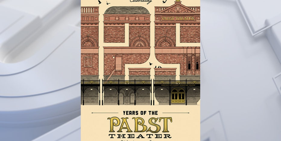 Celebrate 125 years of the Pabst Theater with an original print