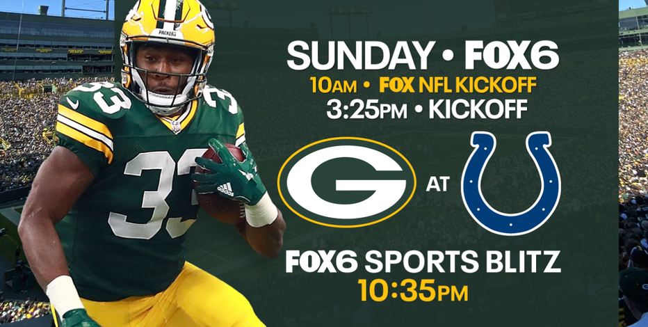 Matchup of division leaders: Packers to square up against Colts