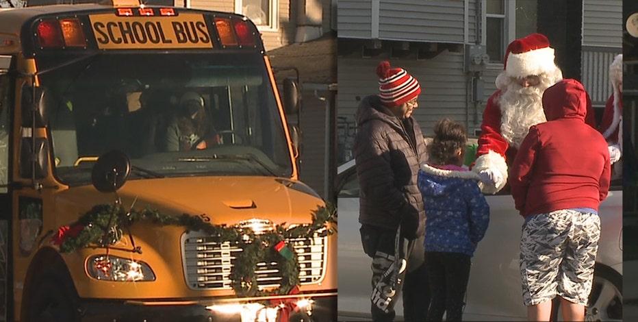 Kenosha police help Santa with special Christmas delivery
