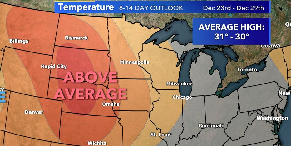Low likelihood southeast Wisconsin sees a white Christmas