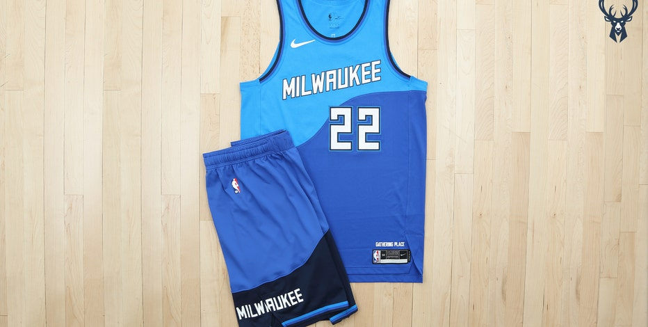 Bucks debut Great Lakes Blue City uniform for 2020-21 season