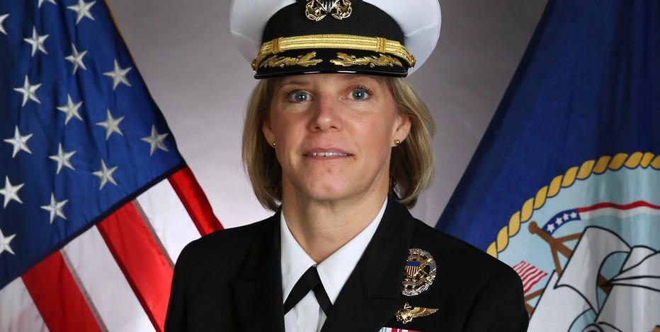Milwaukee woman takes command of warship