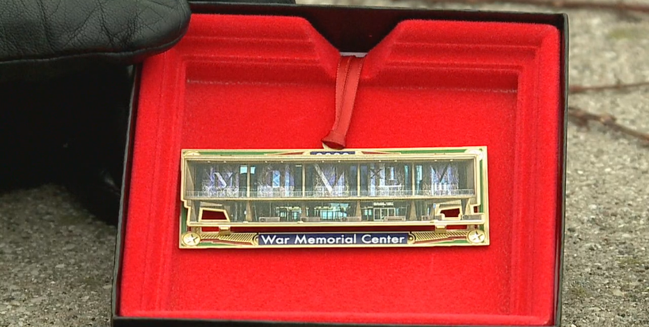 War Memorial Center sells holiday ornament; proceeds benefit vets