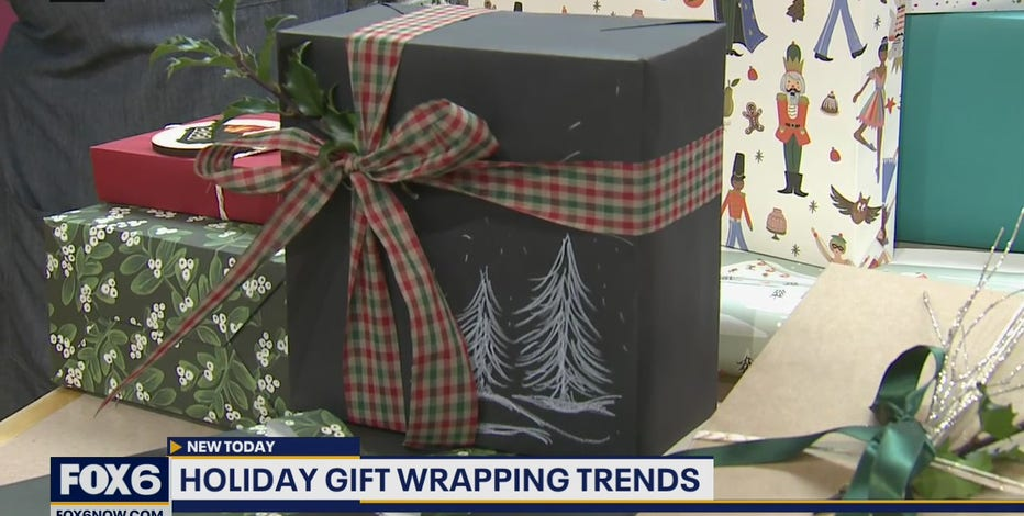 A glimpse of some of this year's hottest trends in holiday wrapping paper