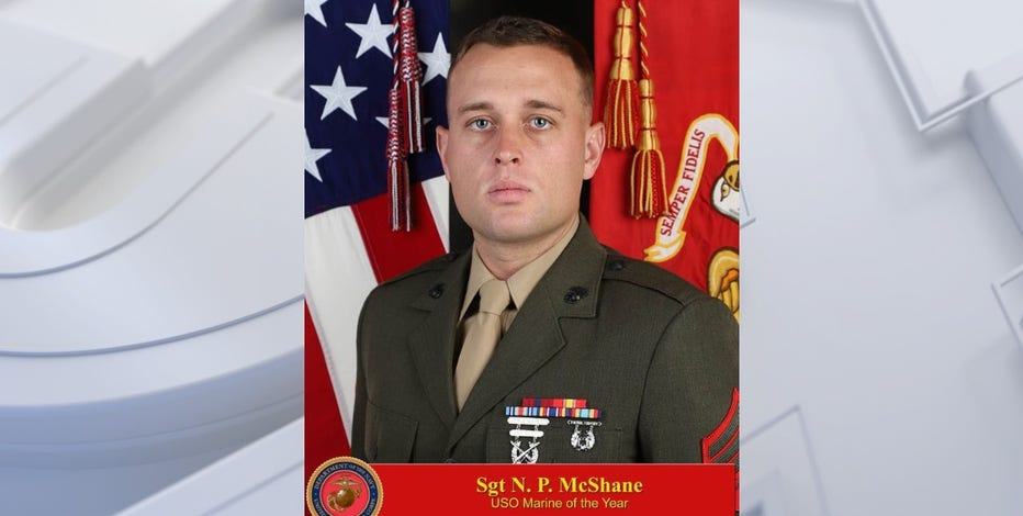 Milwaukee Marine recognized by USO for his service