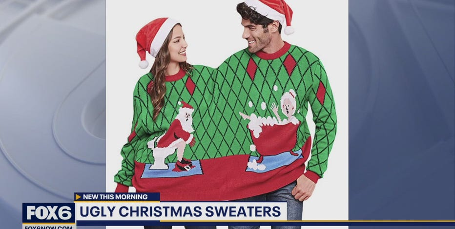 Some fun Christmas sweaters to get you in the festive spirit