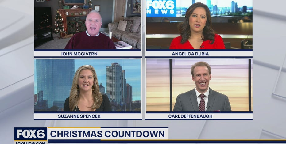 There are only 22 days until Christmas! John McGivern is in a bit of a panic