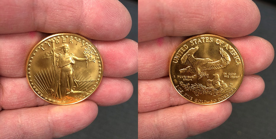 Salvation Army finds gold coin in Kenosha kettle