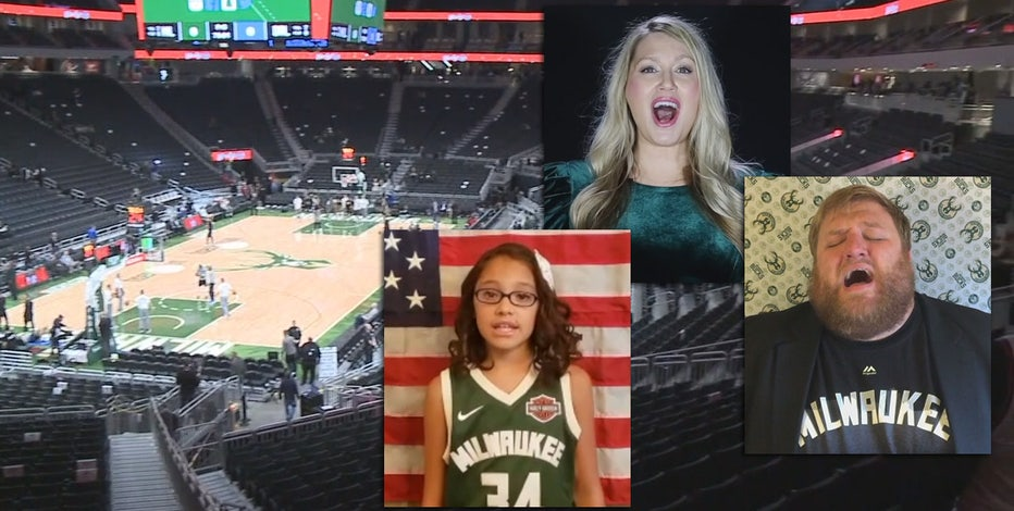 Bucks seek musicians to perform national anthem before tip-off
