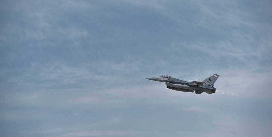 Wisconsin-based F-16 crashes in Upper Michigan during training