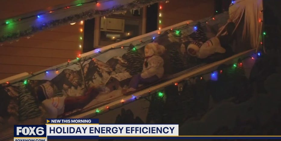 Save money, be safe: Tips for energy-efficient decorating