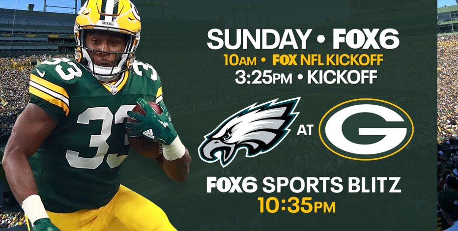 Packers look to soar over Eagles at Lambeau Field on Sunday