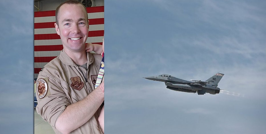 Military officials ID pilot of F-16 that crashed in Upper Michigan