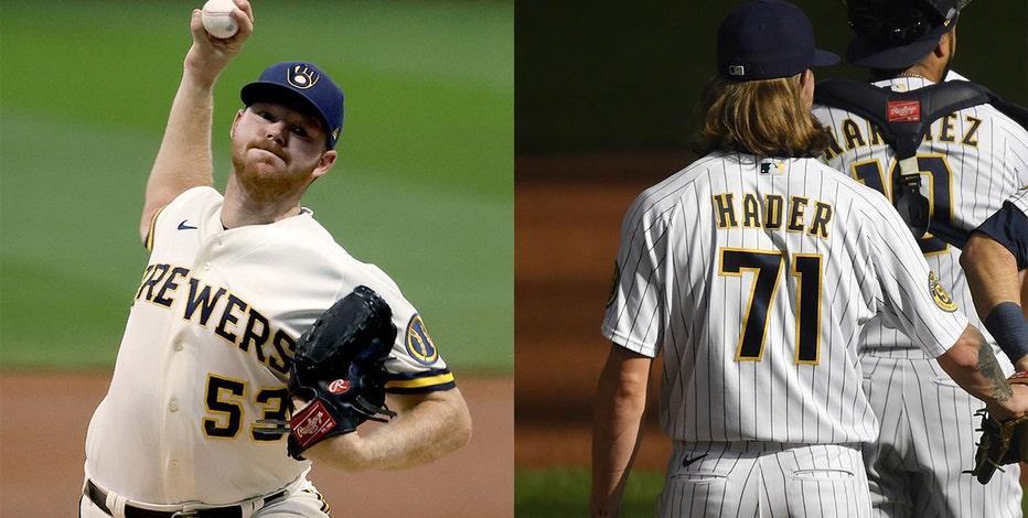 Milwaukee Brewers reach deals with All-Stars Hader, Woodruff