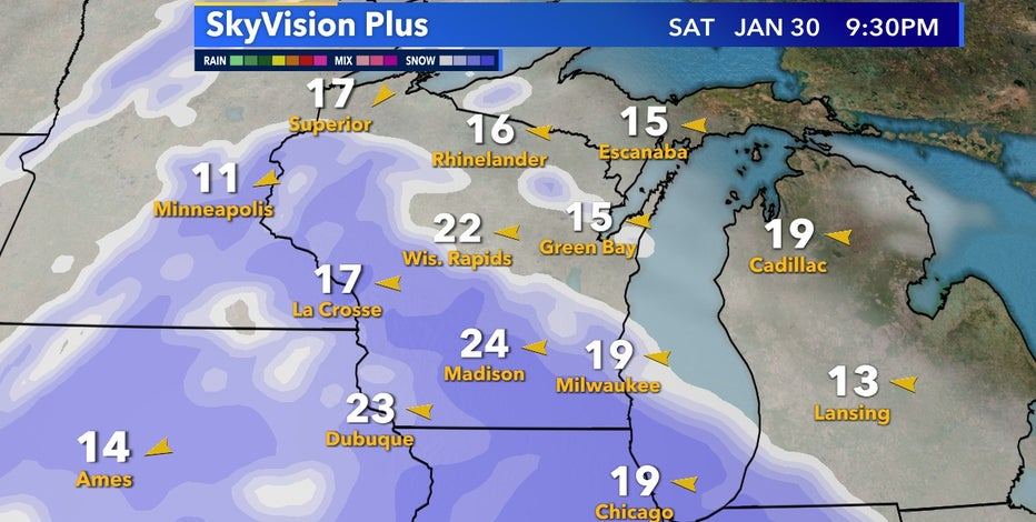 Snow returns this weekend, a few inches likely over Saturday and Sunday