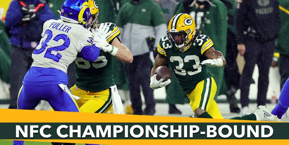 Packers advance to NFC Championship, beat Rams 32-18