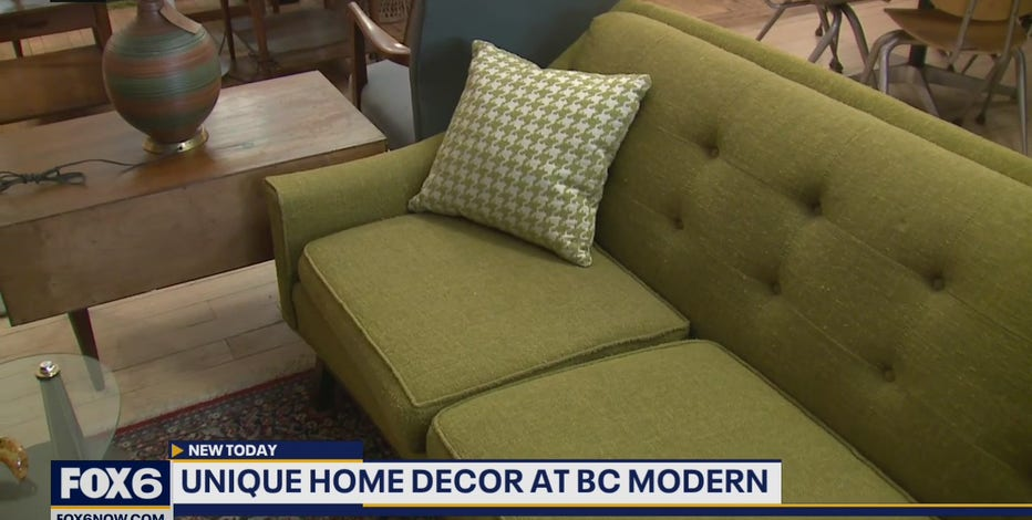 Looking for mid-century modern furnishing and décor? Details on warehouse sale