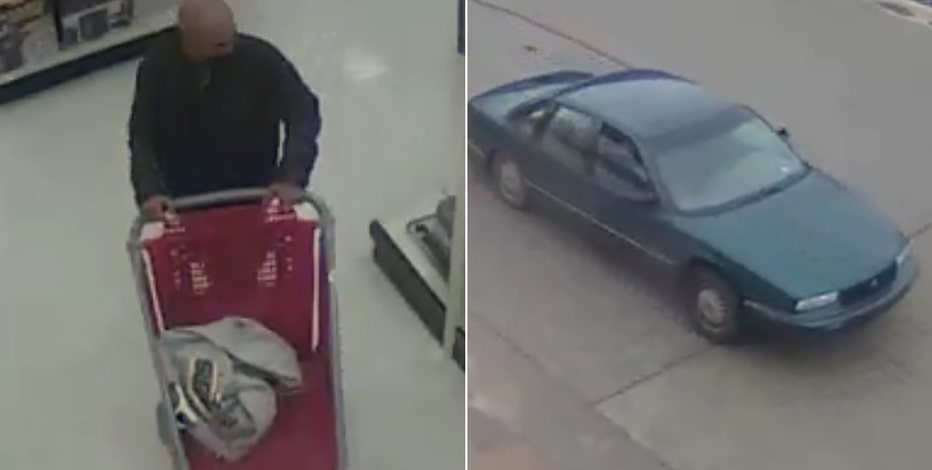 Brookfield police seek suspect in $1,300 Target theft