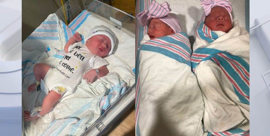 Aurora Health Care welcomes the 1st babies of 2021