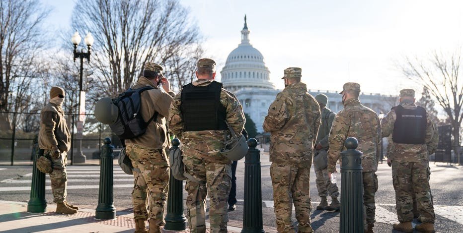 FBI vetting National Guard troops in DC amid fears of insider attack
