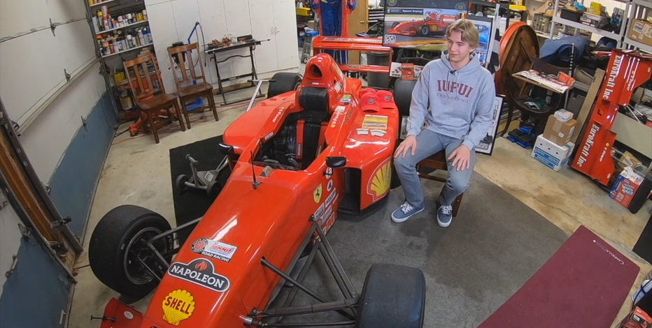 Basement simulator helps Cedarburg senior prep to race through college