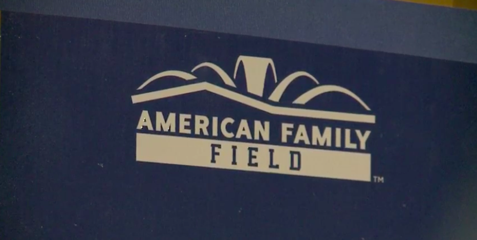 New signage starts going into place at American Family Field