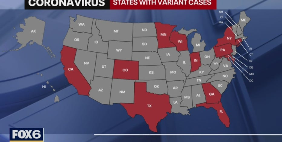 Contagious COVID-19 variant detected in Eau Claire County resident
