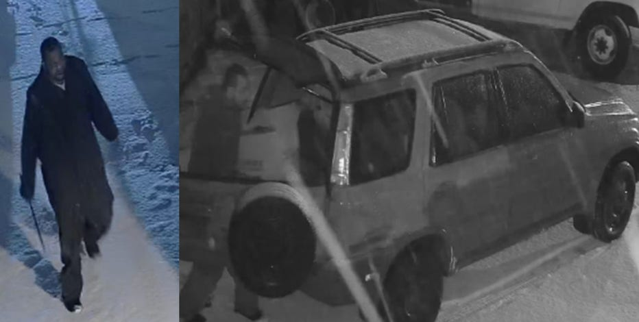 Police seek suspect in theft near 77th and Florist
