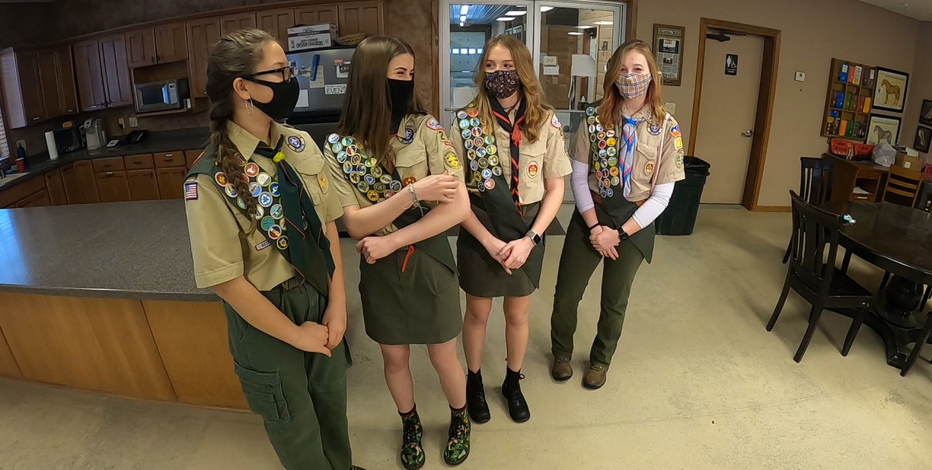4 southeastern Wisconsin teens in inaugural class of female Eagle Scouts