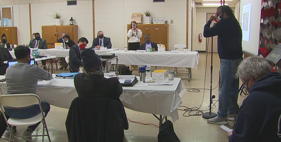 Jacob Blake's uncle speaks at racial disparity task force hearing
