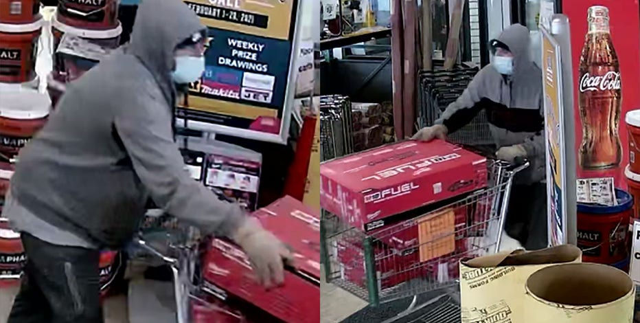 Police: Suspect stole nearly $3K in tools from Menomonee Falls store