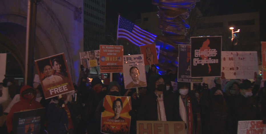 'In a moment of urgency:' protesters greet Biden in Milwaukee