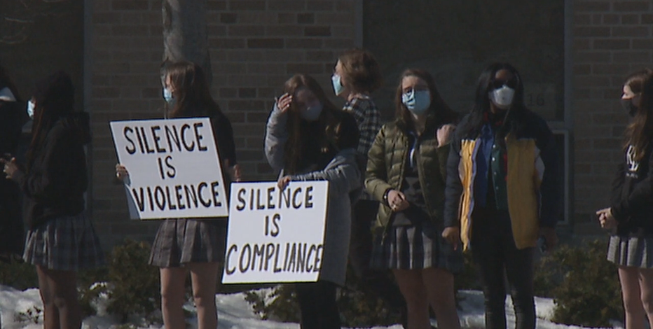 DSHA students walk out over video featuring racial slur