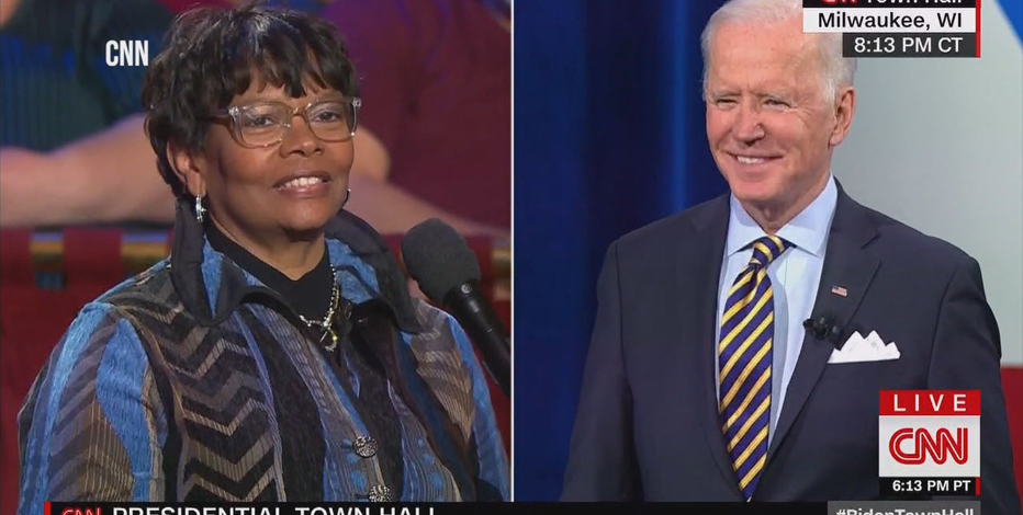 'Very exciting:' Milwaukee nurse questions Biden on vaccine equity
