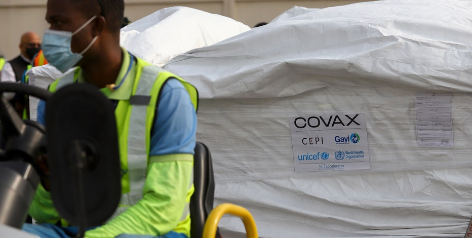 Ghana is 1st nation in world to receive UN-backed COVAX vaccines