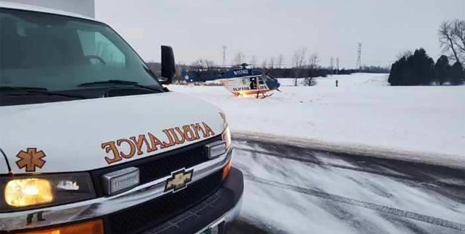 Man seriously injured in Ozaukee County snowmobile accident