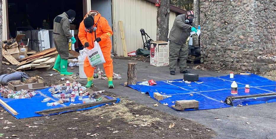 Langlade County investigators uncover extensive methamphetamine lab