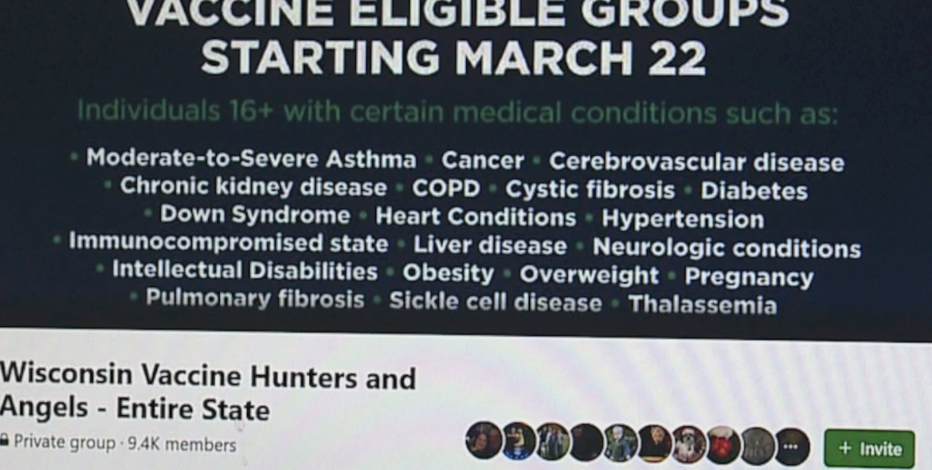 Facebook group connects Wisconsinites to COVID-19 vaccines