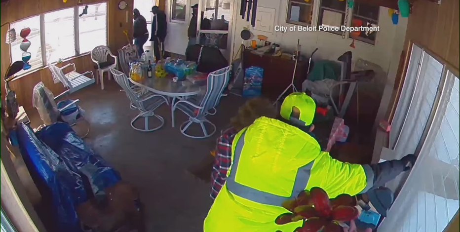 Beloit police: Fake contractors committed wild home burglary on camera