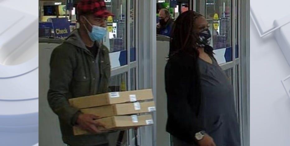 Menomonee Falls police seek 2 who stole Chromebook laptops from Best Buy