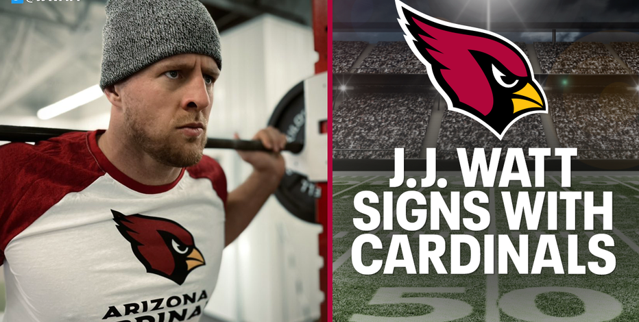 Watt going to Arizona, NFL star signs 2-year deal with Cardinals