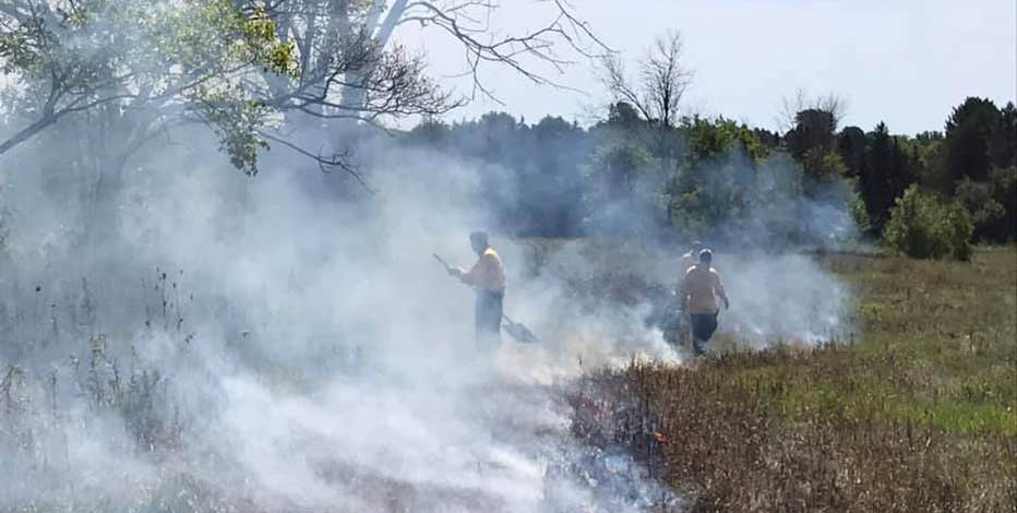 DNR prescribed burns provide many benefits to local ecosystems