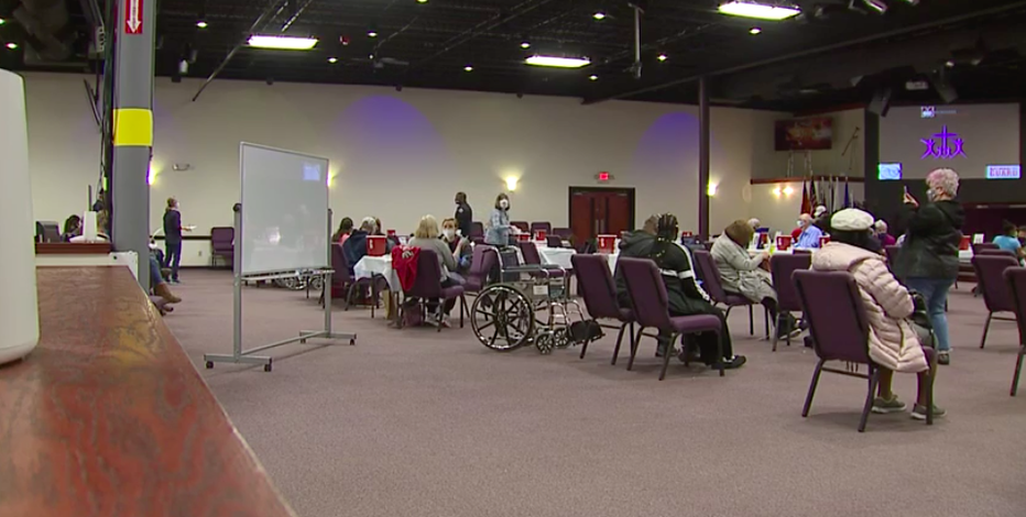 Church holds vaccine clinic, leaders tell people not to skip their turn