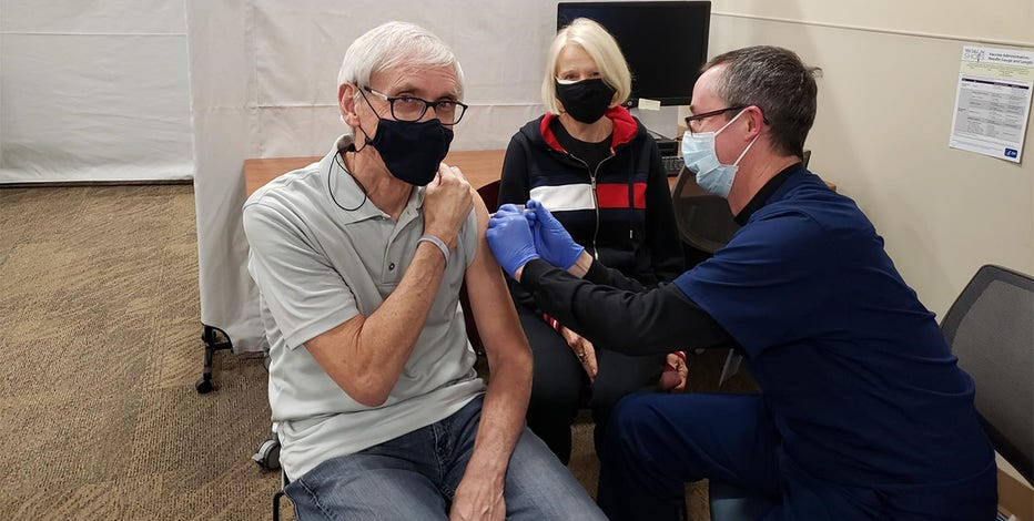 Gov. Evers, first lady complete COVID-19 vaccination series
