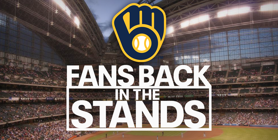 Brewers cleared to host 25% capacity to open season; no tailgating
