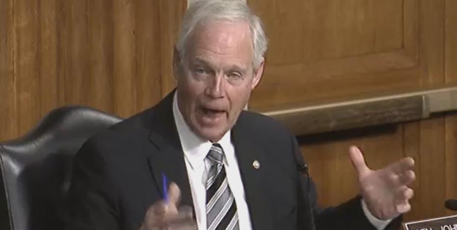 Sen. Ron Johnson says comments about Capitol breach were not racist