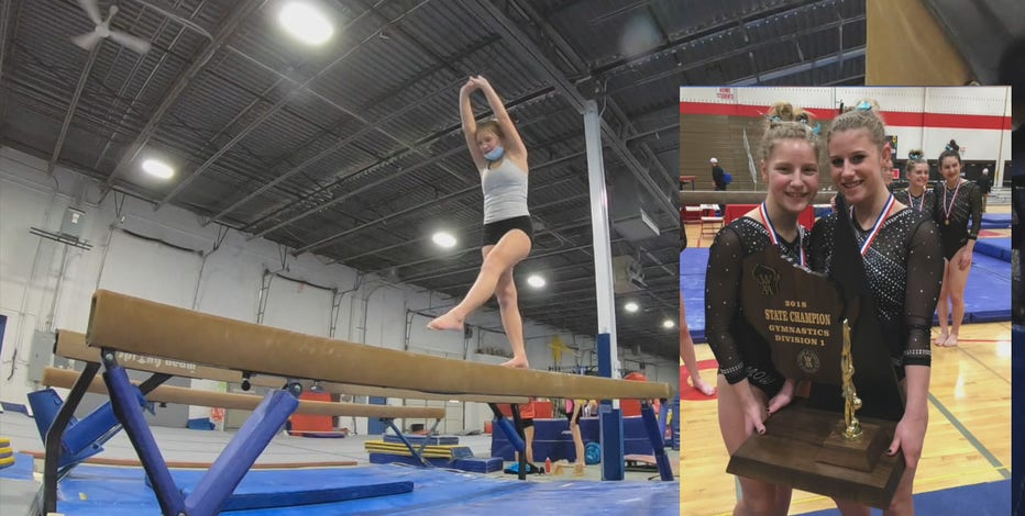 Muskego gymnast learns how to perform without arms, goes to state